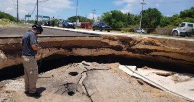 Así rescatarán caverna del desplome en carretera Tulum – Playa del Carmen