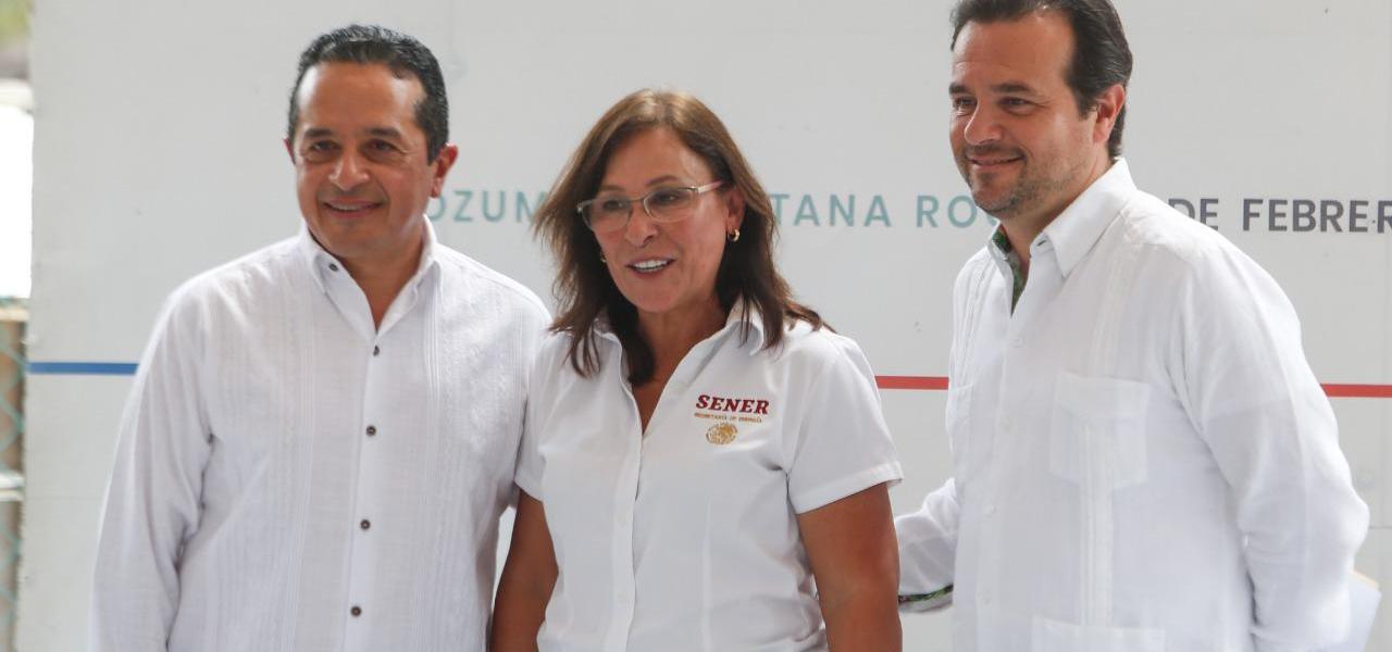 Con la suma de esfuerzos de los tres niveles de Gobierno, se le da mayor seguridad y certeza jurídica a los cozumeleños: Pedro Joaquín