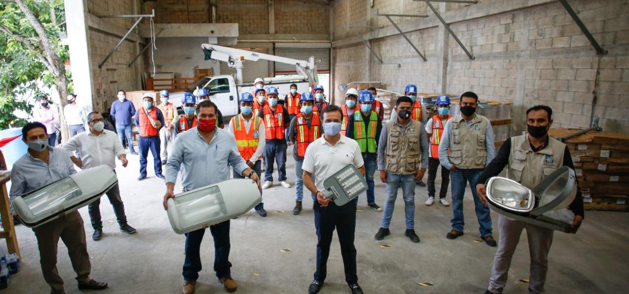 Con la modernización de más de 9,000 luminarias, Cozumel será el municipio mejor iluminado de México: Pedro Joaquín