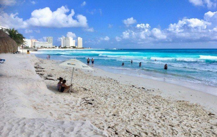 Cancún: Playas Limpias de Sargazo hoy 8 de julio de 2020