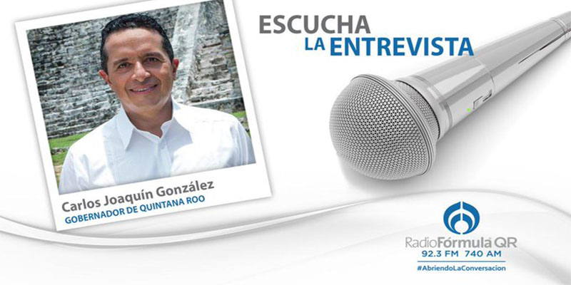 En Quintana Roo se están tomando las medidas de prevención necesarias ante el COVID-19: Carlos Joaquín