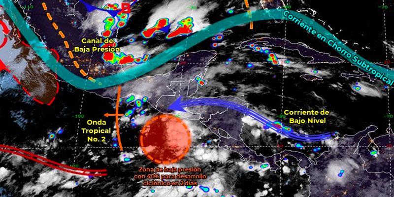 Se espera para Quintana Roo nubes de tormenta y temperaturas calurosas