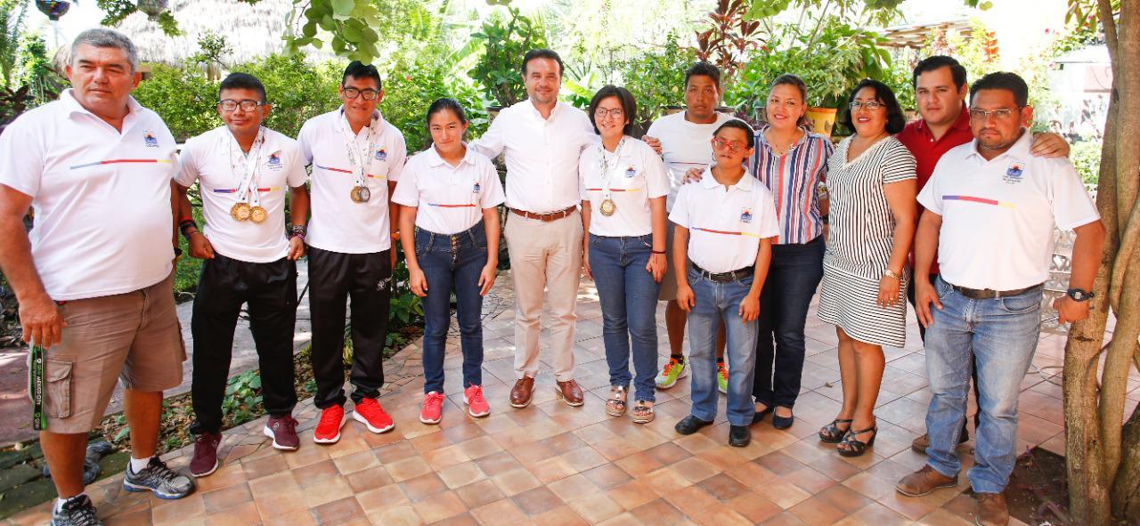 Destaca Pedro Joaquín acciones concretas en dos años de gobierno en pro de la niñez, el deporte adaptado y el medio ambiente en Cozumel