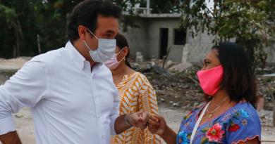 Cumple Gobierno de Pedro Joaquín a los habitantes de 'La Botella'; después de 12 años ya tienen agua potable, drenaje sanitario y luminarias con tecnología led