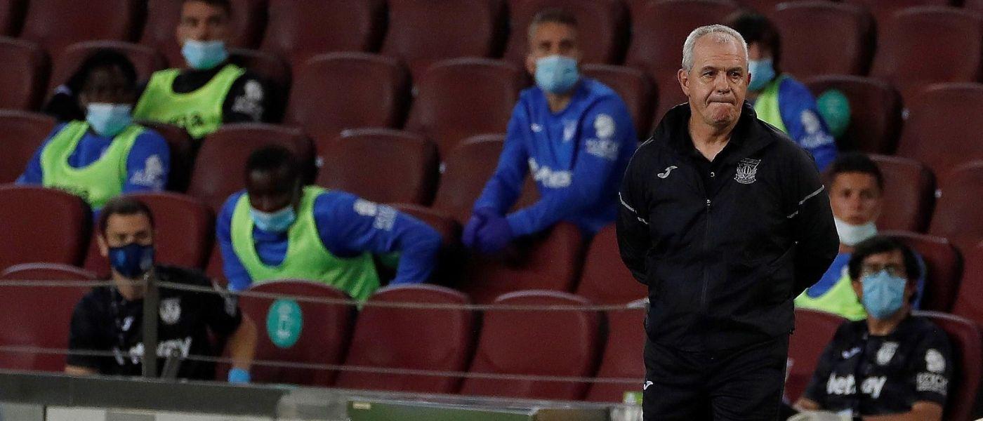 Barcelona doblega al Leganés de Javier Aguirre