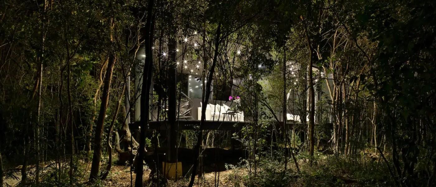 Glass House, de Puerto Morelos, gana la bienal de arquitectura del Caribe Mexicano