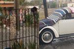 Otra vez fuerte lluvia y granizo azota a Nuevo León (VIDEOS y FOTOS)