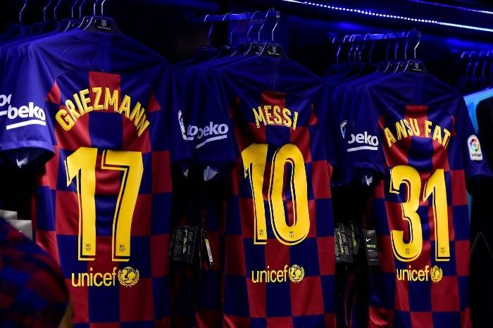 Barcelona aún usa a Messi como imagen de publicidad