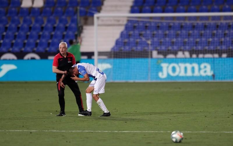 Leganés da la cara ante el Real Madrid pero no evita el descenso
