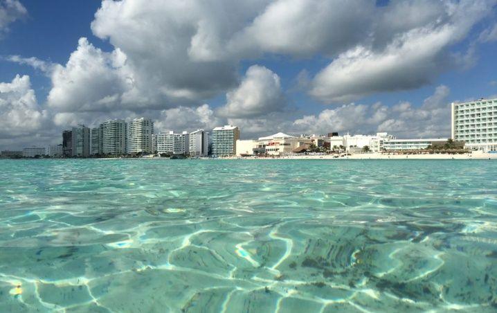 Cancún: Playas Limpias de Sargazo hoy 21 de febrero de 2020
