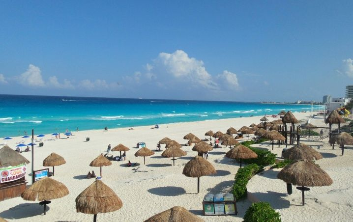 Cancún: Playas Limpias de Sargazo hoy 22 de mayo de 2020
