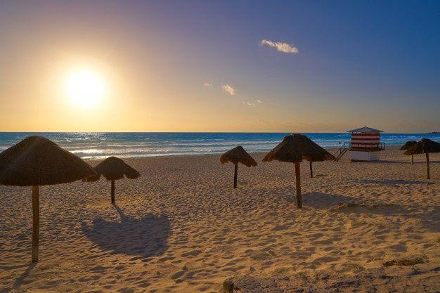 Cancún: Playas Limpias de Sargazo hoy 25 de marzo de 2020