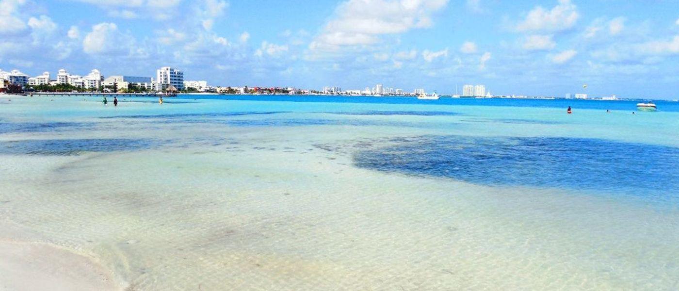 Cancún: Playas Limpias de Sargazo hoy 3 de junio de 2020