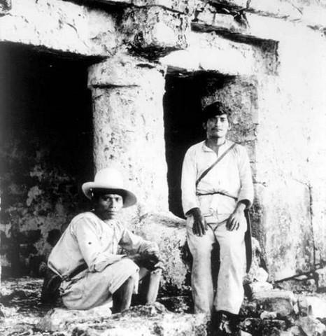 Poderosa mujer maya