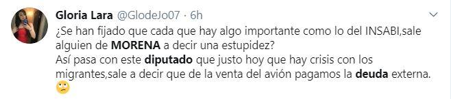 Avión presidencial pagará hasta deuda externa, dice diputado de Morena