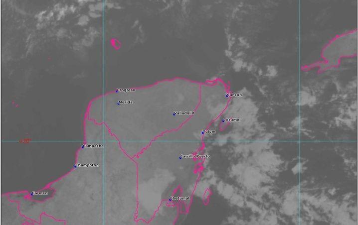Clima Cancún, Playa del Carmen, Chetumal y Quintana Roo hoy 24 de Febrero 2020