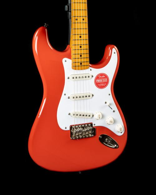 Squier Classic Vibe '50s Stratocaster in Fiesta Red