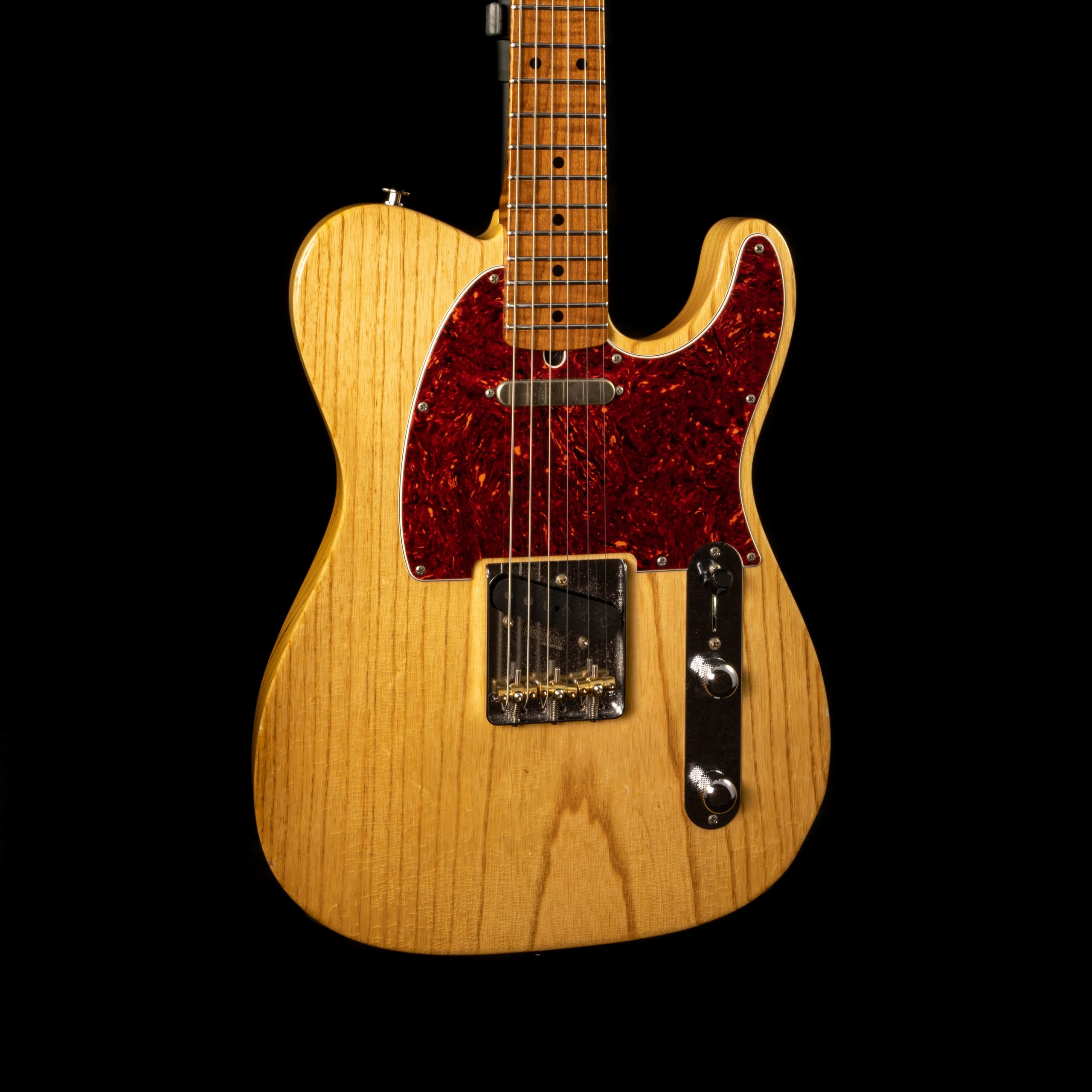 Suhr Custom Classic Antique T in Natural w/ Roasted Flame Maple Neck