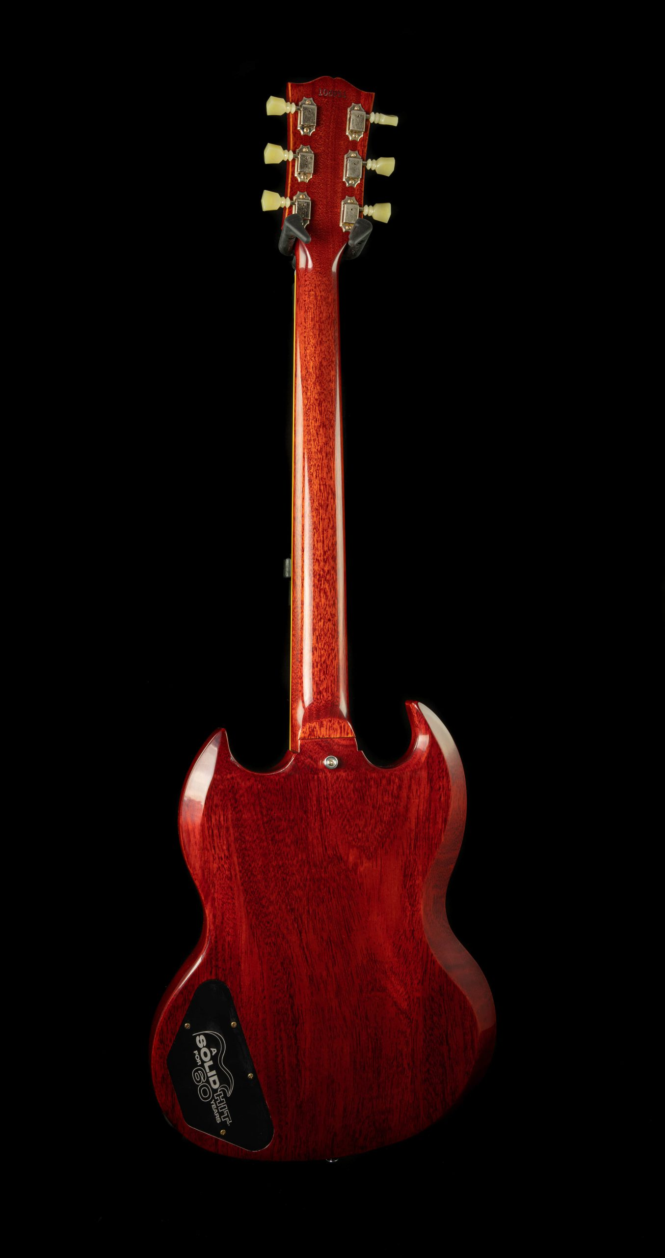 Gibson 60th Anniversary '61 Les Paul SG Standard w/ Sideways Vibrola in Cherry Red