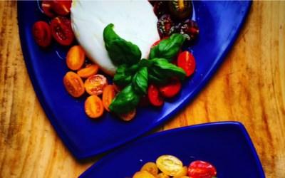 Buratta, tomatoes & la dolce vita