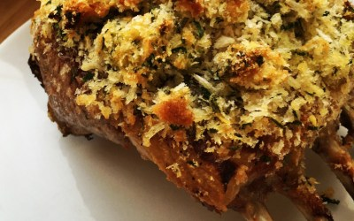 A Father's Day post: Rack of Lamb and Three Cheese Potato Gratin – a meal fit for a king!