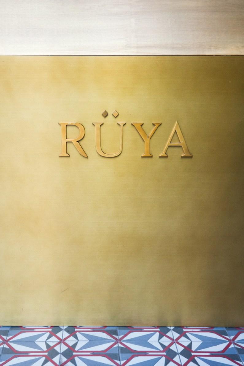 ruya, restaurant, logo