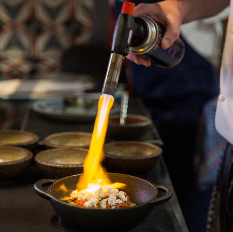 chargrilled food, blowtorch cooking, lidijas kitchen, foodie, restaurant spotlight Ruya