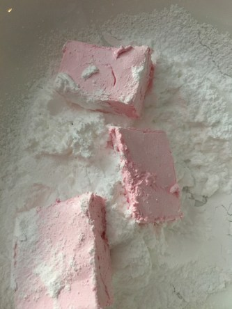 Marshmallow recipe-pink