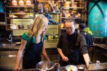 lidija-with-head-chef-ceviche-counter