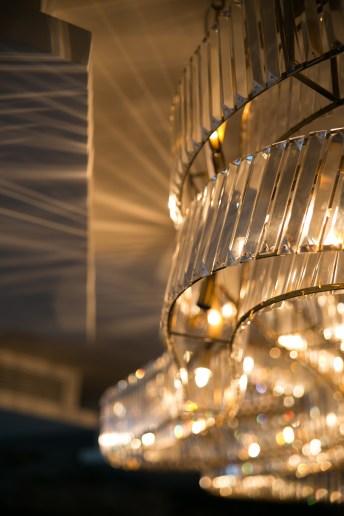 cieling lamps closeup