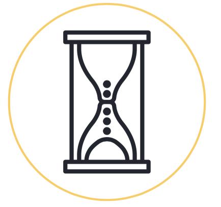 waiting, hourglass