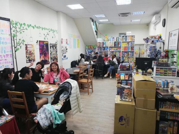 Spielecafés in Taiwan