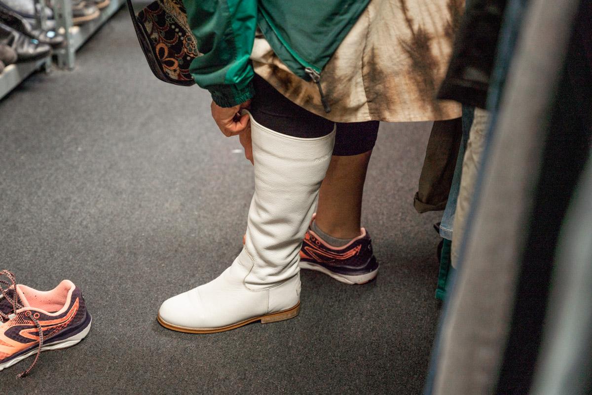 ruilwinkel schoenen passen Zierikzee goes fotografie
