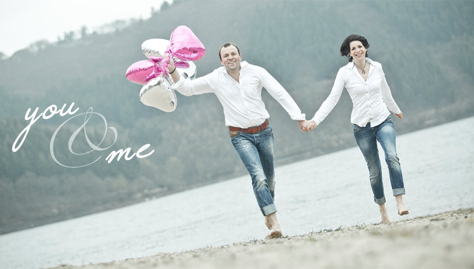 Engagement-Shooting Outdoor Vintage in Heimbach und Nideggen