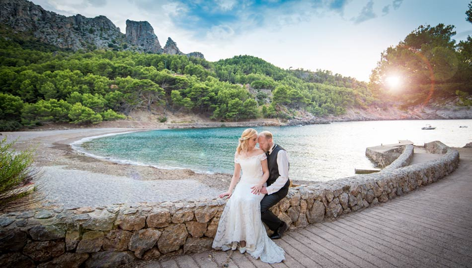 After-wedding-shooting Hochzeitsfotos Mallorca