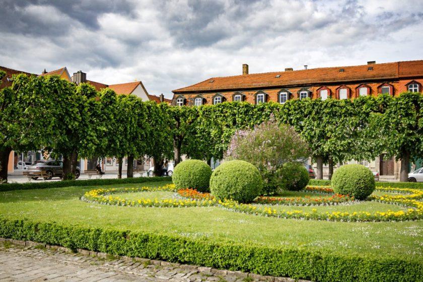 Neues Schloss und Hofgarten Bayreuth
