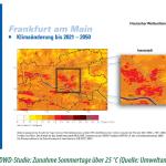 Starke zunahme an Hitze in Frankfurt - ein Bürgerbegehren will sich dagegen wehren