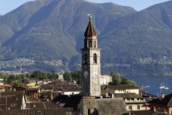 Blick über die Dächer von Ascona