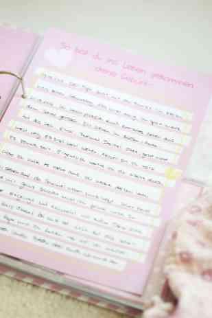 Das individuelle Album als Geschenkidee zur Taufe, Geburt, Geburtstag