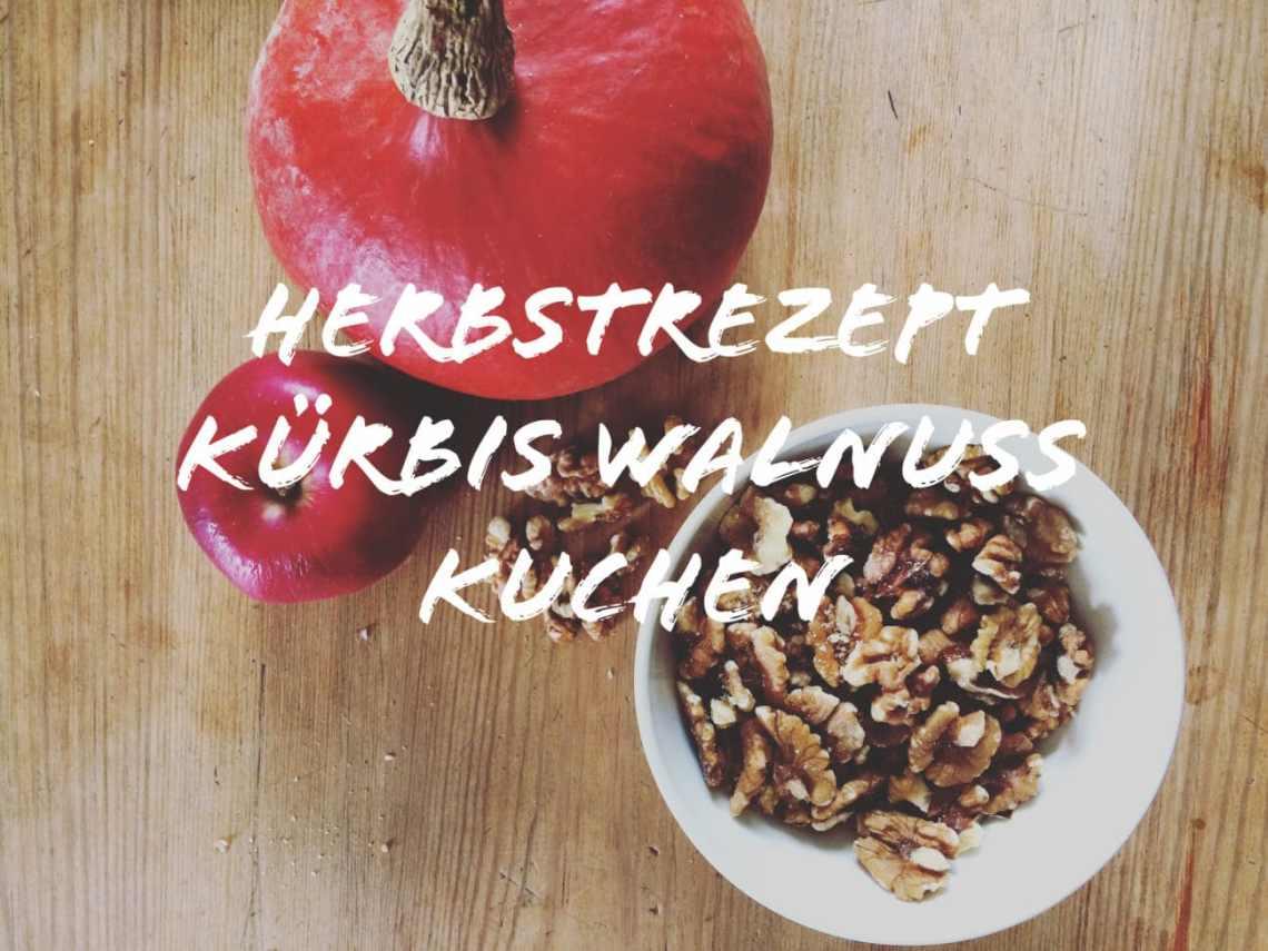 Kurbis Walnuss Herbstkuchen Veganes Rezept