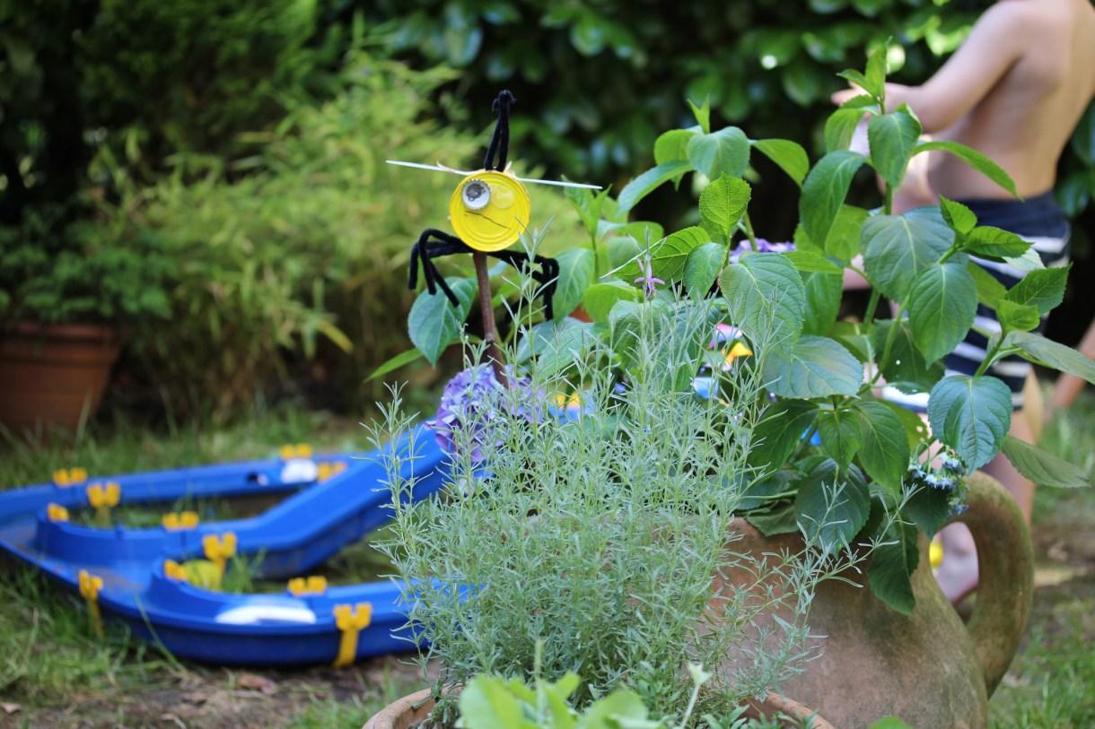 Garten mit Kindern was muss rein