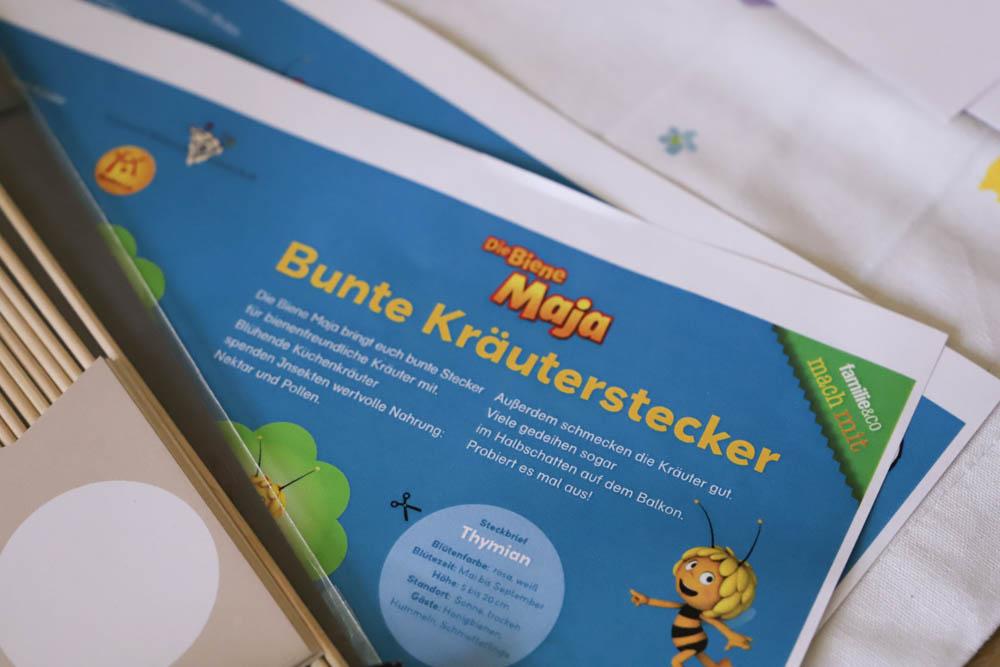 garten gestalten mit bienenfreundlichen Kräutern