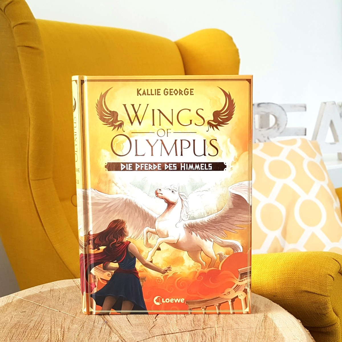 Wings of Olympus - Pferde des Himmels von Kallie George (Rezension)