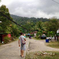 Hauptort auf der anderen Seite auf Tioman Island