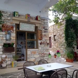 Café O Platanos in Filoti