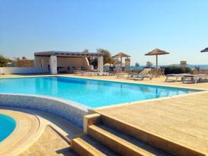Pool Stella Apartments auf Naxos