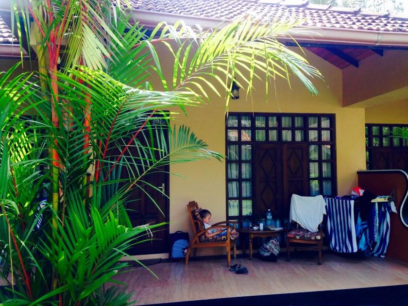 Unser Bungalow im Flower Garden Hotel