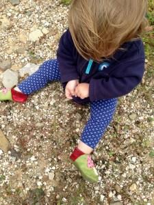 Steine auf unserem Weg in den Urlaub...