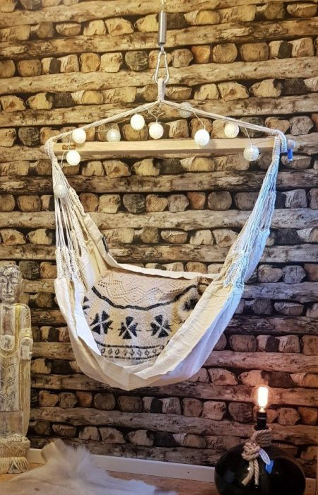 Hanging Chair für Urlaubsfeeling