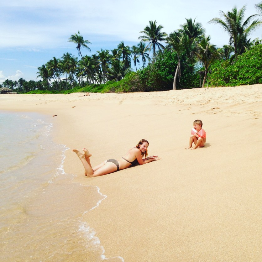 Beach in Tangalle